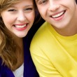 Portrait of a young couple — Stock Photo