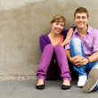 Teenage couple — Stock Photo #28037605