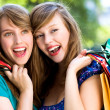 Women Shopping — Stock Photo #28043671