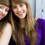 Two beautiful girls — Stock Photo #28043847