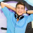 Young man with mp3 player — Stock Photo #28057899