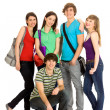 Happy students — Stockfoto #28074811