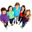 Five Young Teenagers — Stock Photo