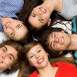 Five Young Teenagers — Stock Photo #28075713
