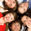 Teens With Thumbs Up — Stock Photo #28075893