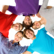 Stock Photo: Five Young Teenagers