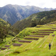 Stock Photo: Chinchero, IncRuins, Peru
