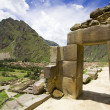Stock Photo: Ollantaytambo, IncRuins, Peru