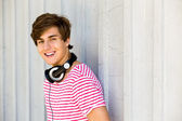 Casual young guy — Stock Photo