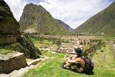 Ollantaytambo, Incan Ruins, Peru — Stock Photo