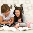 Couple studying — Stock Photo #28189009