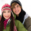 winter couple — Stock Photo #28195505