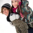 winter couple — Stock Photo #28195667