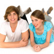 Happy teenagers — Stock Photo #28203035