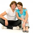 Happy teenagers — Stock Photo
