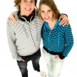 Teenage couple — Stock Photo #28203275