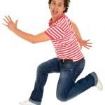 Young man jumping — Stock Photo #28207113