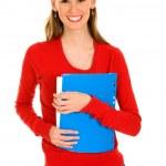 Happy female student — Stock Photo #28208999
