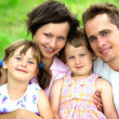 Happy family — Stockfoto #28260807