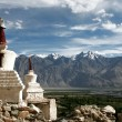 Stock Photo: Chorten, Himalayas, Ladakh, India