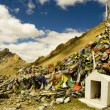 Tibetan Prayer Flags, Himalayas, India — Stock Photo
