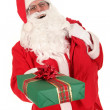 Santa Claus and Christmas Gifts — Stock Photo