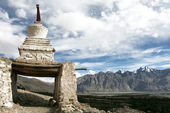 Chorten, Himalayas, Ladakh, India — Stock Photo