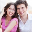 Happy young couple — Stock Photo #28519793