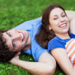 Happy young couple — Stock Photo #28520317