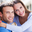 Affectionate young couple — Stock Photo