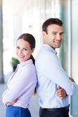 Para młodych firm — Zdjęcie stockowe