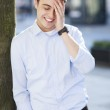 Man laughing — Stock Photo #33434551