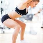 Woman exercising — Stock Photo #34820367