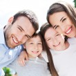 Happy family outdoors — Stock Photo #49076361