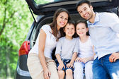 Family car — Stock Photo