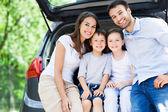 Family car — Stock Photo