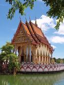 Thailand religious castle, Samui — Stock fotografie