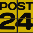 Stock Photo: Post office sign