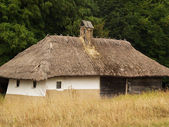 Casa de vila velha — Foto Stock