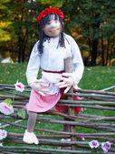 Ukrainian national dolls — Stock Photo