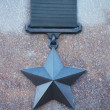 Stock Photo: War achievement medal