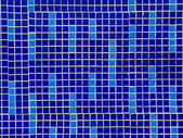 Colored ceramic mosaic tiles texture — Stock Photo