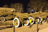 Soviet World War II  D-1 howitzer M1943 — Stock Photo