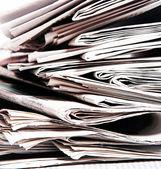 газеты — Стоковое фото