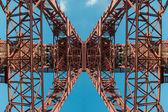 Mining tower — Stock Photo