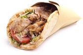 Sanduíche de kebab — Foto Stock