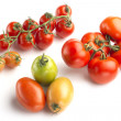 Tomato varieties — Stock Photo