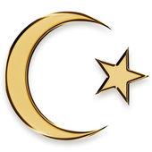 Islamic emblem — Stock Photo