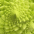 Detail of texture of a romanesco broccoli  — Stock Photo