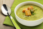 Creamy vegetable soup — Stock Photo